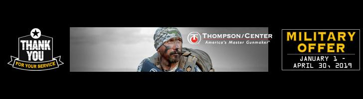 Smith & Wesson®, Thompson/Center Arms™ Renew Military Appreciation